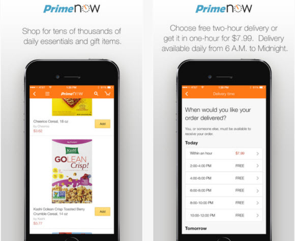 912aafa29025 Amazon launched a new 1-hour delivery service in Manhattan on Thursday that  will extend to additional cities in 2015.