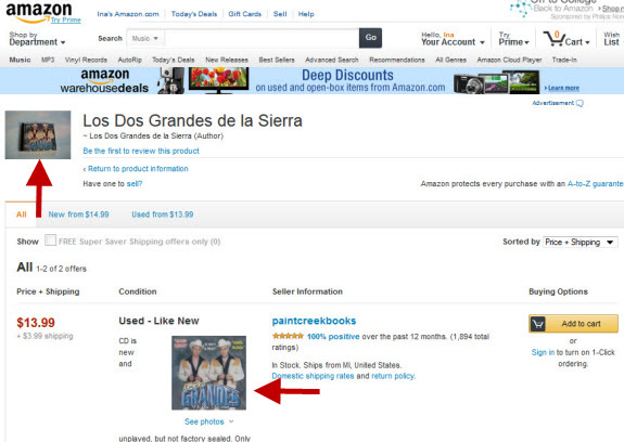 Amazon Sellers Can Add Photos to Used Book and DVD Listings