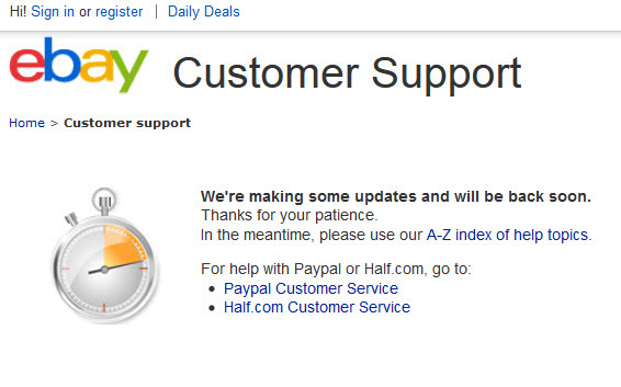 how to respond to ebay customer support