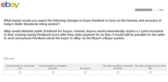 Breaking Ebay Considers Eliminating Buyer Feedback