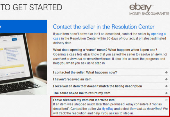 Ebay Penalizes Sellers For Late Deliveries