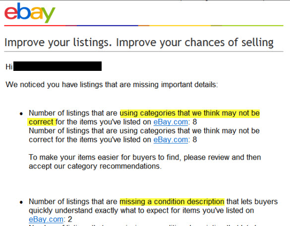 Ebay Warnings Indicate It Can T Keep Track Of Seller Compliance