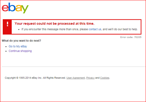 Breaking News Another Ebay Outage Hits The Site