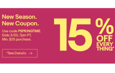 0abf6ab68 eBay is running another sitewide coupon sale