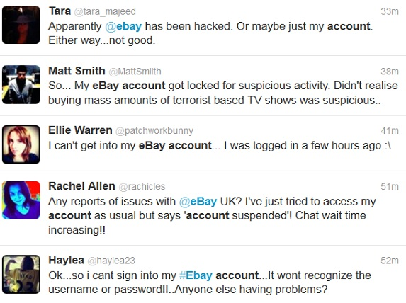 Ebay Glitch Users Can T Log In Problems With My Ebay