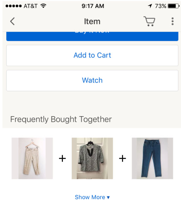 Is eBay Frequently Bought Together Feature Win or Lose?