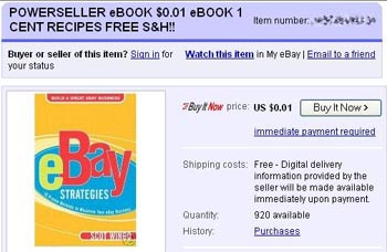 Ebay Feedback Farms Planted With One Cent Ebooks