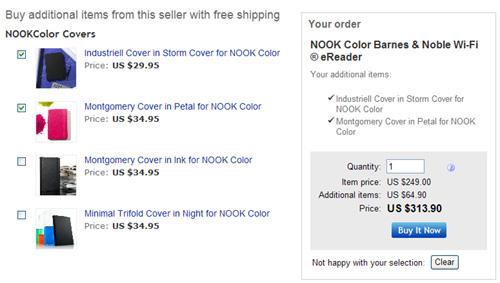 nook color ebook reader price