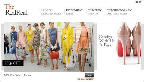 Luxury Resale Site The RealReal Raises Series B Funding