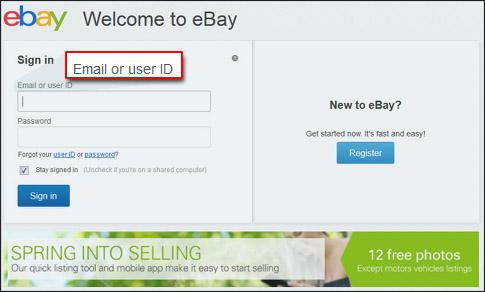 Ebay Makes It Easier To Login