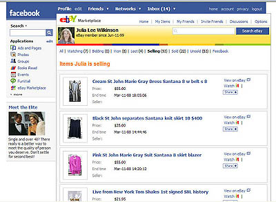 eBay Sellers Network on Facebook for Fun and Profit