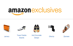 12b0b3fac4e45 Online retail giant Amazon.com recently marked the first year of offering  its Amazon Exclusives program. It promotes this section of its marketplace  as ...
