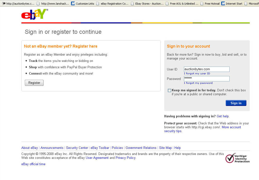 Watchdog Group Gives Live Demo Of Ebay Security Vulnerability
