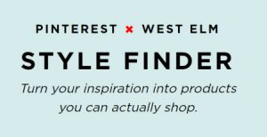 West Elm Pinterest Style Finder