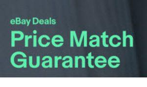 eBay Price Match Guarantee