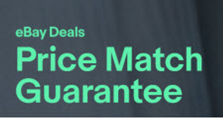 eBay Price Match Guarantee