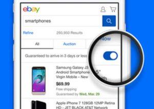 eBay Guaranteed Delivery