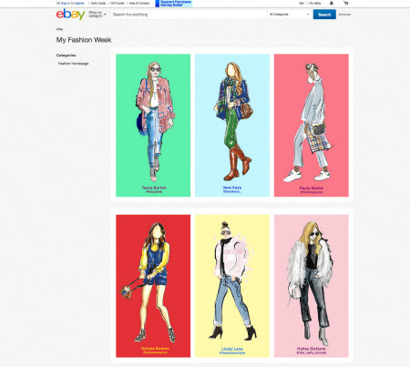 eBay Fashion image recognition campaign