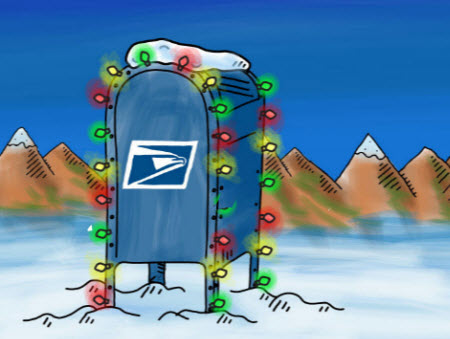 USPS Issues Reminder of Early Closing on Christmas Eve