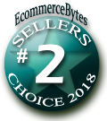 2nd Place Finisher - EcommerceBytes 2018 Sellers Choice