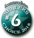 6th Place Finisher - EcommerceBytes 2018 Sellers Choice