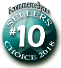 10th Place Finisher - EcommerceBytes 2018 Sellers Choice