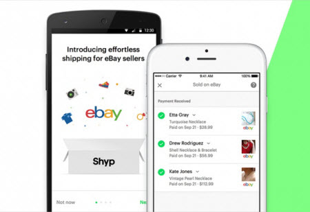 Shyp eBay partnership