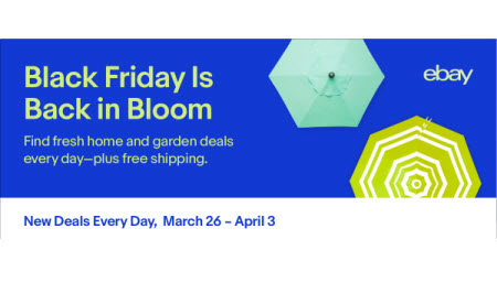 eBay Spring Black Friday deals