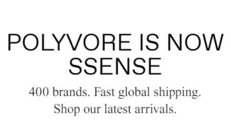 Ssense closes Polyvore