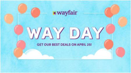 Wayfair Way Day holiday