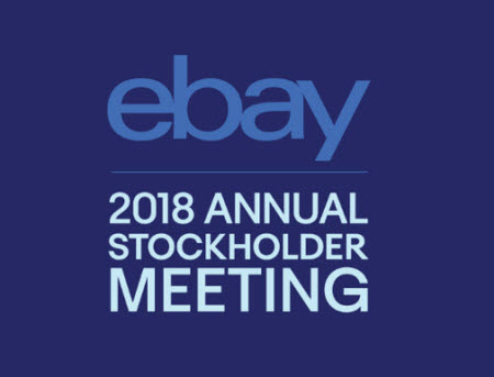 eBay Annual Meeting 2018