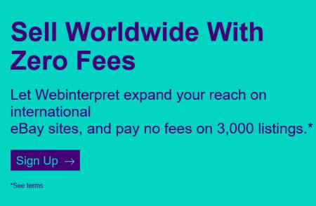 eBay Promotion WebInterpret