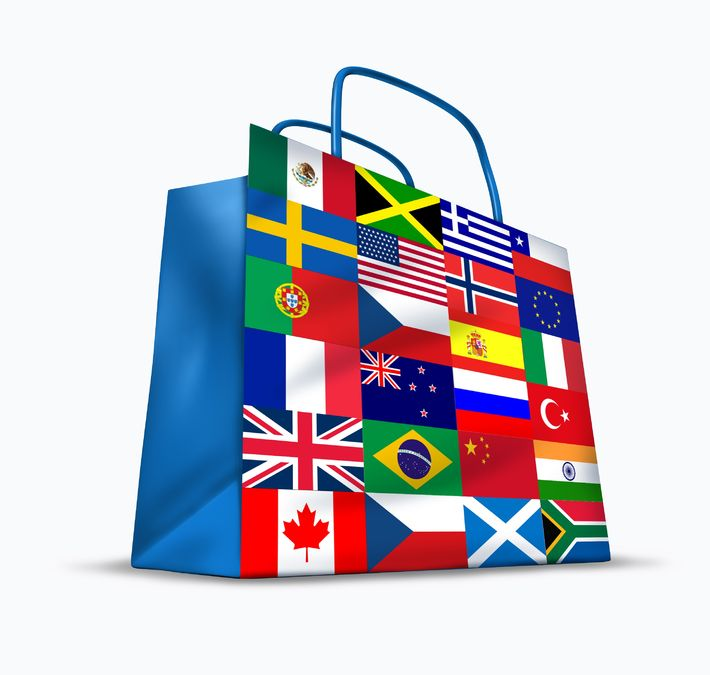 International Selling Shopping