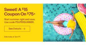 eBay June sitewide sale