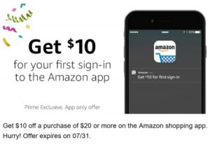 Amazon Mobile App Promotion
