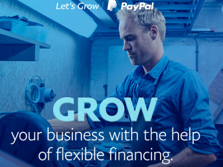 PayPal offers loans to sellers