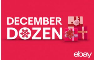 eBay December Dozen Deals 2018