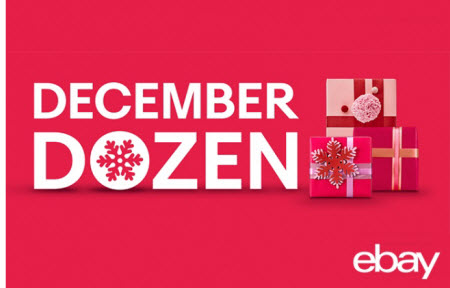eBay December Dozen Deals