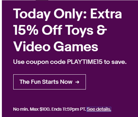 eBay Flash Sale December 13 2018