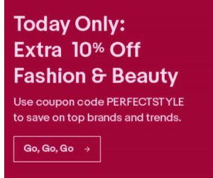 eBay Runs One-Day Flash Sale in Fashion and Beauty