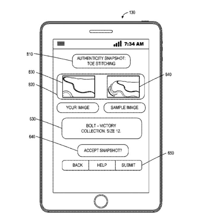 eBay Patent anticounterfeit