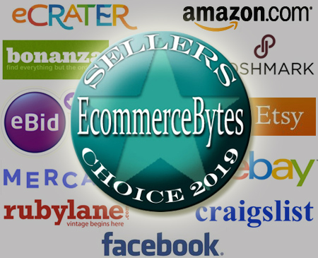 EcommerceBytes 2019 Sellers Choice Finalists
