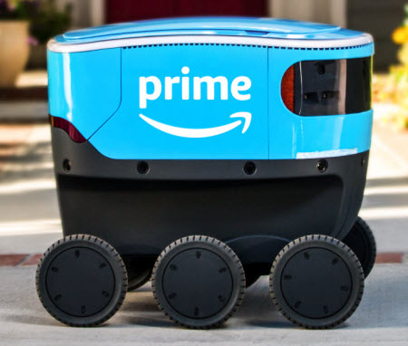 Amazon Robots Are Delivering Packages in Snohomish