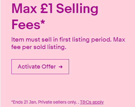 eBay UK Caps Seller Fees in New Promotion