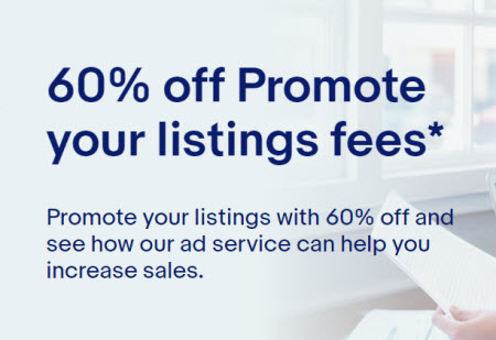 eBay Promoted Listings promotion