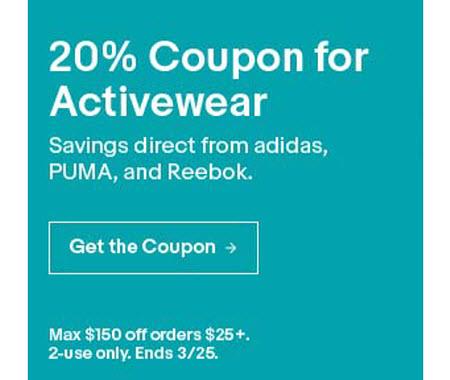 eBay Activewear Sale