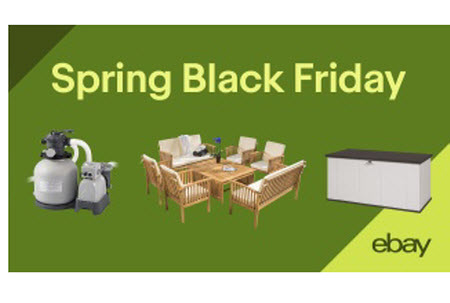 Tremendous Ebay Launches Spring Black Friday Sale Deals Platform Home Remodeling Inspirations Propsscottssportslandcom