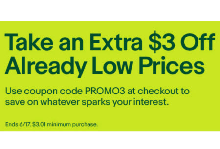 Would a $3 eBay Coupon Get First Time Buyers to Bite